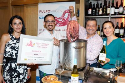Vinolio winner best pairing of IV edition Pulpo Pasión