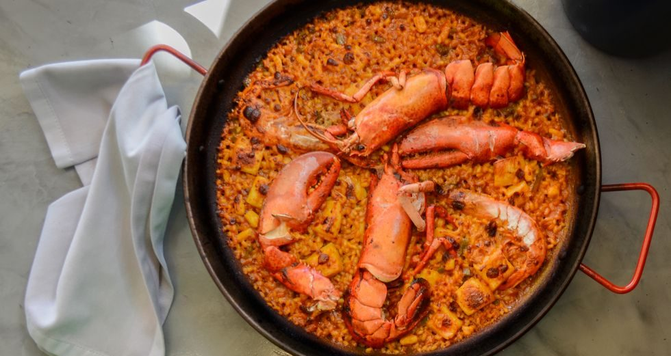 Arroz con bogavante en Madrid